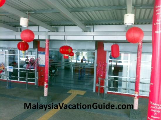 Rapid KL Concession office.