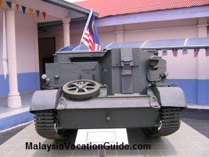 Armor Tank KL Armed Forces Museum