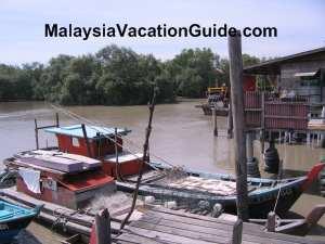 Bagan Tengkorak Fishing Boats