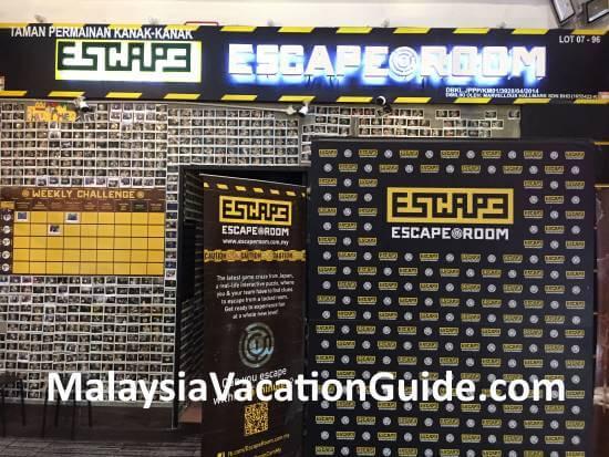 Escape Game Berjaya Times Square