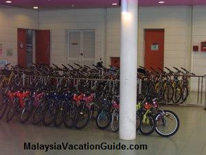 Tropical Botanical Garden bicycles for rent