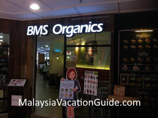 BMS Organic Shop Centrepoint