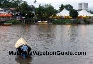 Boat At Sarawak River