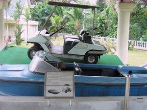 Tun Abdul Razak's boat