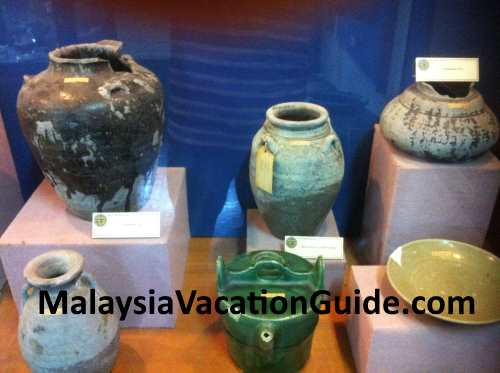 Artifacts at Beruas Museum