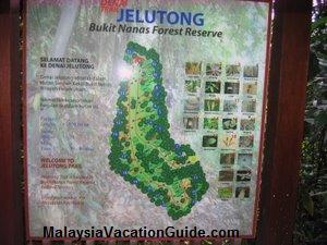 Bukit Nanas Map