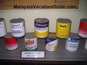 Johor Pineapple Museum Canned Pineapple