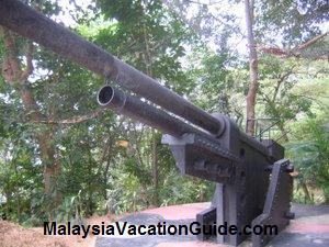 Penang War Museum Canon