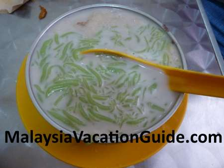 Cendol at Cendol Air Putih shop in Kuantan
