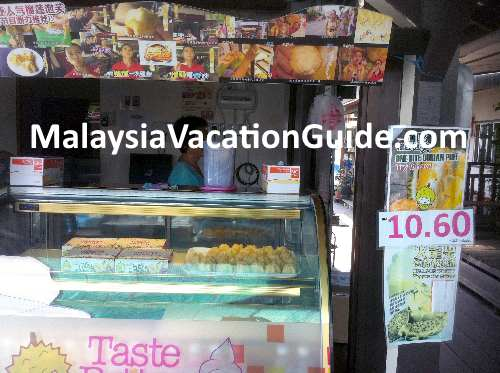 Dessert shop at Chew Jetty