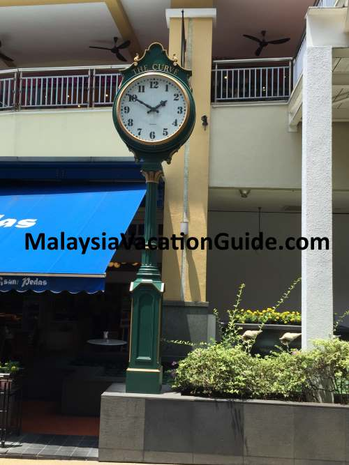 The Curve Clock Petaling Jaya
