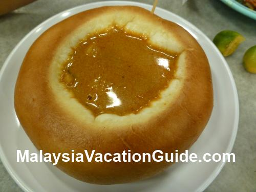 Curry Chicken Bun Kepong