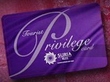 Suria KLCC Tourist Privilege Card