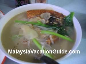 Kuala Lumpur Fish Head Noodles