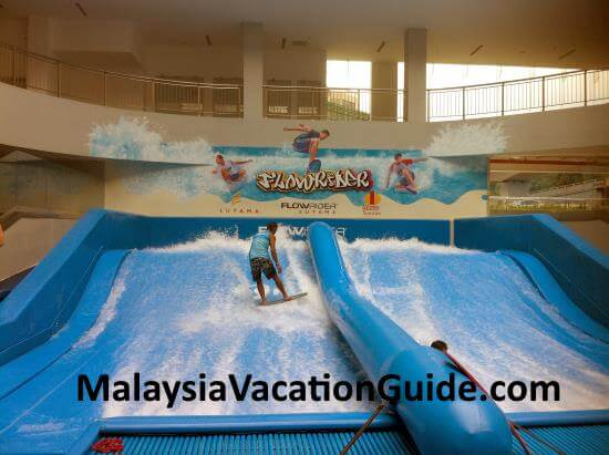 Flowrider at 1 Utama.