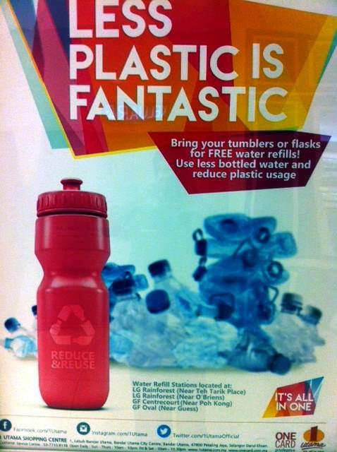 1 Utama Water Refills