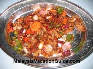 Prawn Mantis Restoran Suang Le River