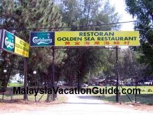 Golden Sea Restaurant Morib