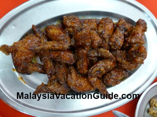 Guiness Stout Chicken Wings Aik Khoon Restaurant