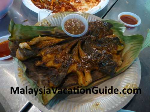 Gurney Drive Stingray Grilled Fish.