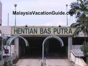Hentian Putra Bus Terminal Parking