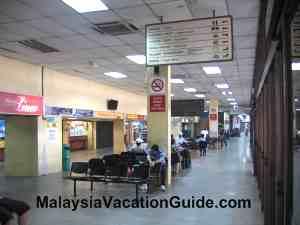 Hentian Putra Bus Terminal Hall