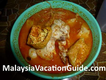 Hoi Yin Curry Noodles in Kuantan