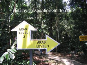 Kanching Waterfalls Kuala Lumpur Malaysia Stock Photo