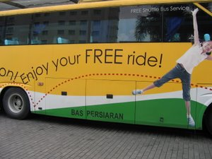Ikano Free Shuttle Bus