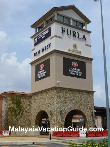 Entrance Of Johor Premium Outlet