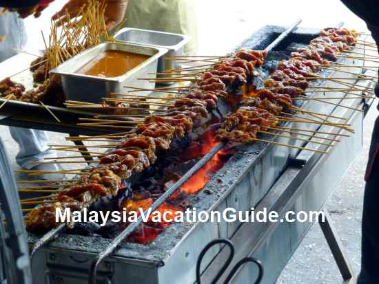 Willy Satay Stall