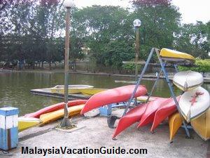 Shah Alam Lake Gardens Kayaks