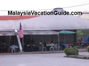 Kelanang Beach Food Stalls