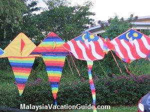Kite Flying At Kepong