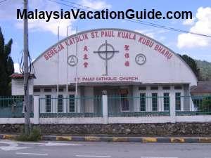 Kuala Kubu Bharu St Paul Catholic Church