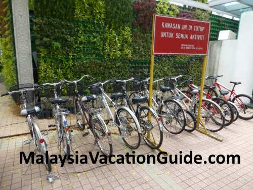 Here are the bicycles that you can rent to explore the city of Kuala Lumpur.