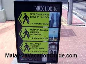 KL City Walk Signage