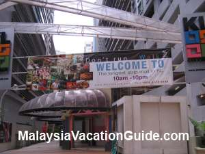 KL City Walk Banner