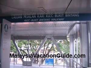 KLCC Bukit Bintang Walkway