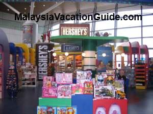 Kuala Lumpur International Airport Shops