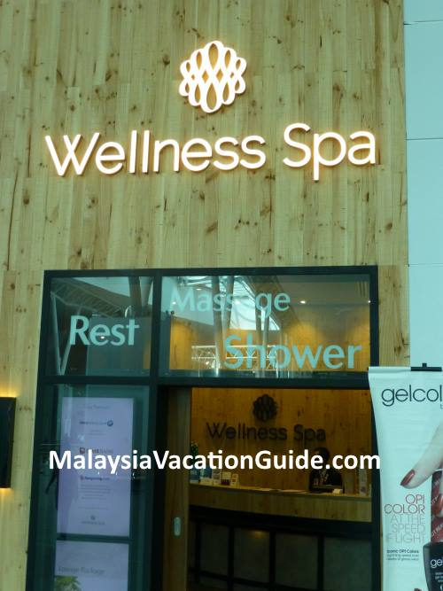 Wellness Spa and Plaza Premium KLIA2