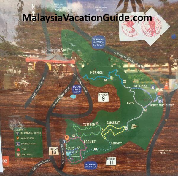 Kota Damansara Hiking Trails