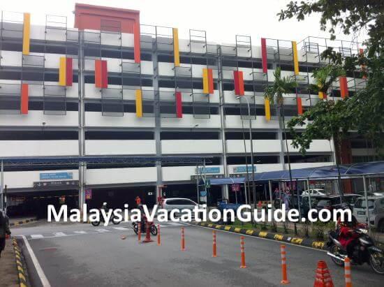 KL Hospital car park.
