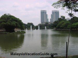 Kuala Lumpur Lake Garden