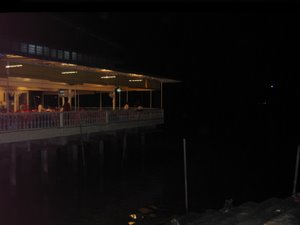 Pasir Penambang Restaurants on stilts