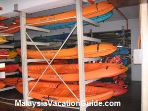 Putrajaya Lake Club Kayaks