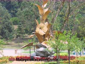 Kuala Lumpur Lake Garden Hibiscus Structure