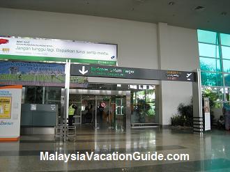 Langkawi International Airport Departure Hall