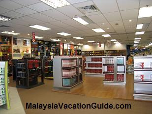Langkawi International Airport Shops