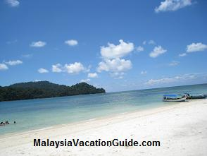 Pulau Beras Basah Beach